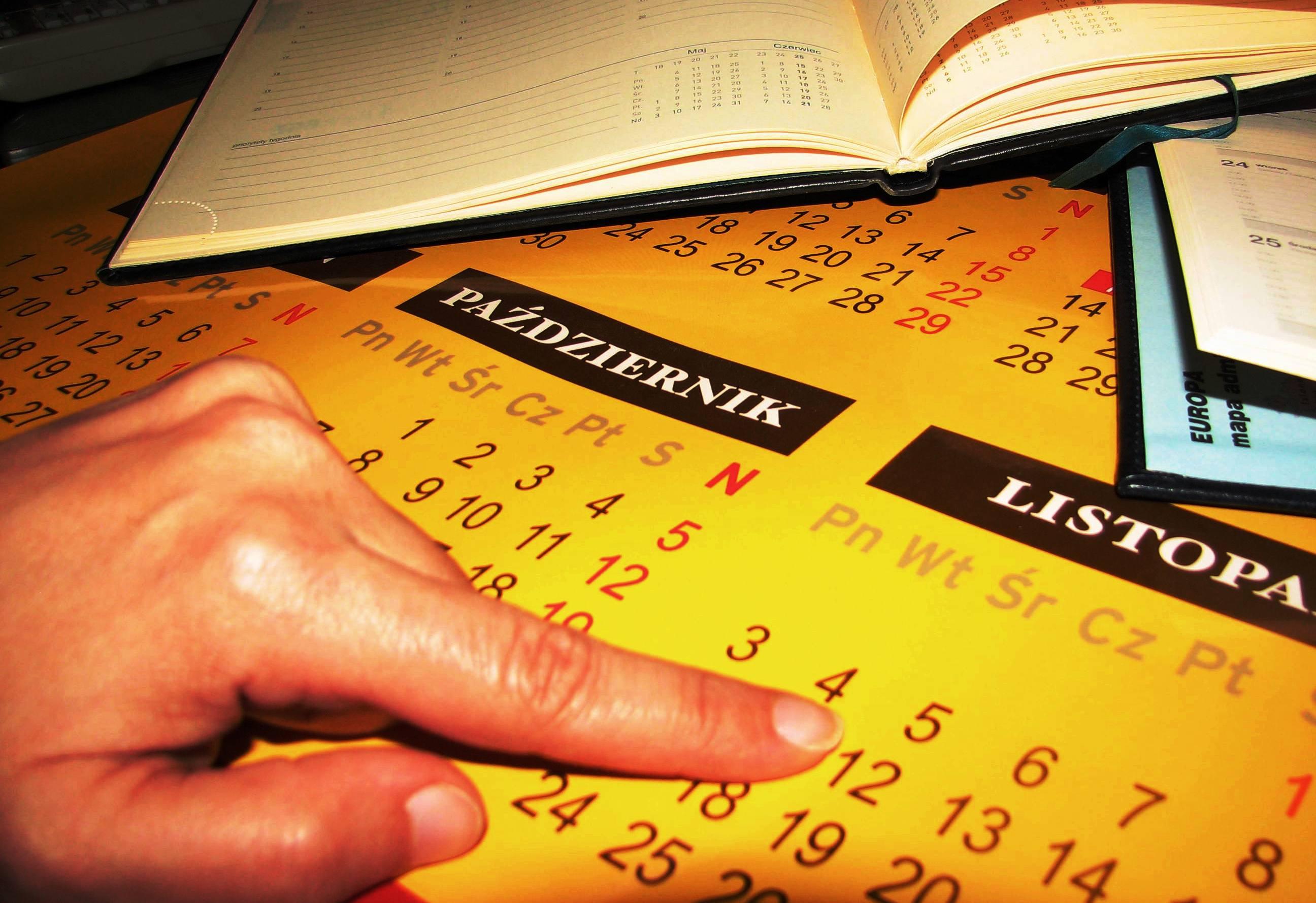 Palcem po Kalendarzu