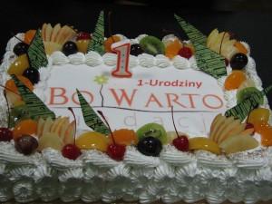 Nasze I urodziny i ciągle WARTO :)