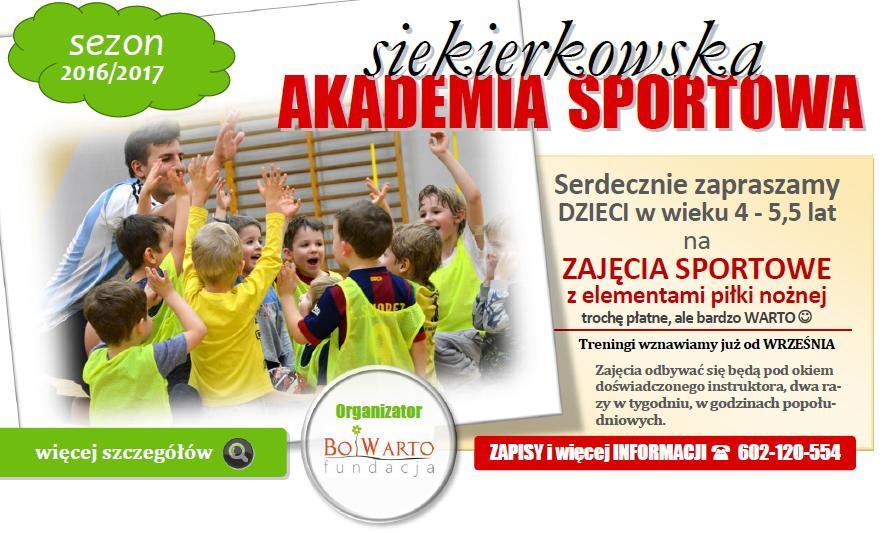 akademia sportowa